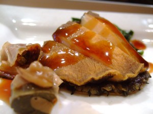Steamed Asian Style Abalone