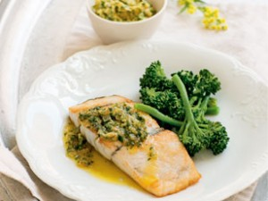 Barramundi with Lime Butter